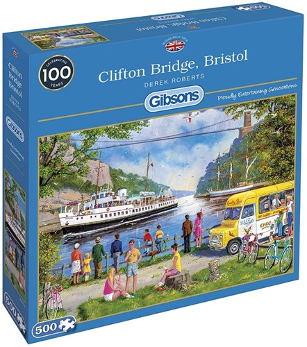 Clifton Bridge, Bristol Puzzel (500 stukjes)