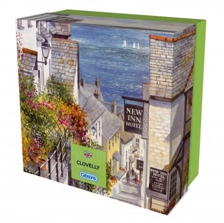 Clovelly Puzzel - Gift Box (500 stukjes)