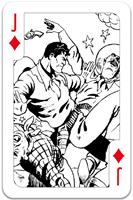 Colour-In Speelkaarten - Amazing Action Comics-2
