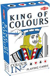 Colour-In Speelkaarten - King/Queen of Colours