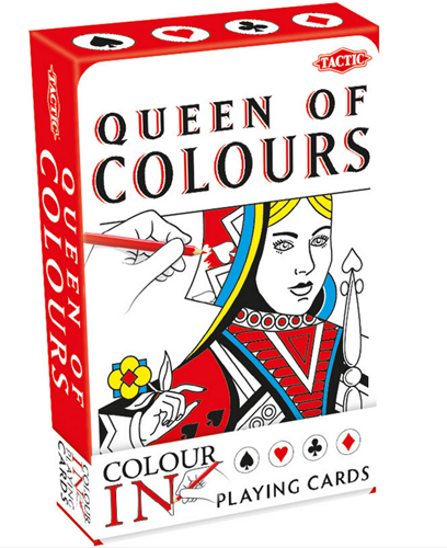 Colour-In Speelkaarten - King/Queen of Colours-2