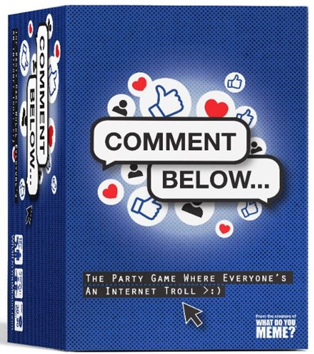 Comment Below Partygame