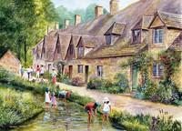 Cotswold Villages Puzzel (2x1000 stukjes)-2