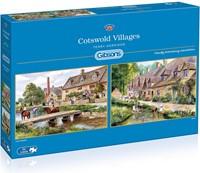 Cotswold Villages Puzzel (2x1000 stukjes)-1