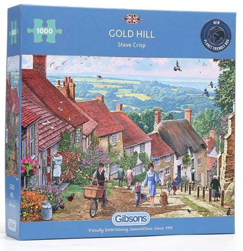 Gold Hill - Steve Crisp Puzzel (1000 stukjes)