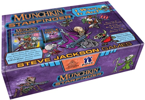 Munchkin - Starfinder I Want It All