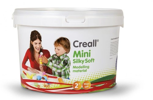 Creall Mini Silky Soft Boetseerklei 350gr - Felle Kleuren