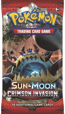 Pokemon Sun & Moon Crimson Invasion - Boosterpack