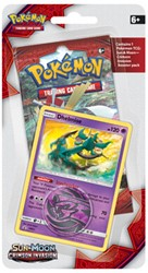 Pokemon Sun & Moon Crimson Invasion - Checklane Blister