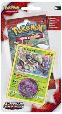 Pokemon Sun & Moon Crimson Invasion - Checklane Blister-2