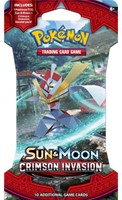Pokemon Sun & Moon Crimson Invasion - Sleeved Boosterpack-1