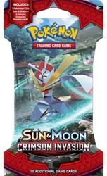 Pokemon Sun & Moon Crimson Invasion - Sleeved Boosterpack