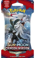 Pokemon Sun & Moon Crimson Invasion - Sleeved Boosterpack-3