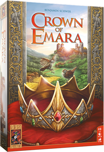 Crown of Emara - Bordspel (demo spel)