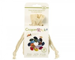 Crayon Rocks - Cotton Muslin 16 Colors