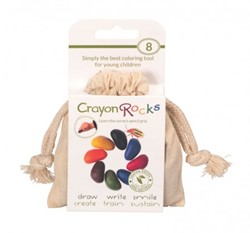 Crayon Rocks - Cotton Muslin 8 Colors