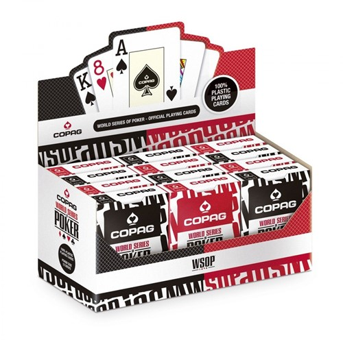 Copag World Series of Poker - Speelkaarten (Rood of Zwart)