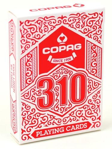 Copag 310 - Speelkaarten (Rood)