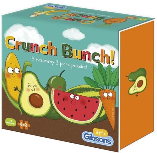 Crunch Bunch Puzzel (8 x 2 stukjes)