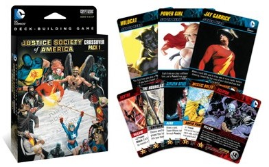 DC Comics Deck Building Game - Crossover Pack #1-2