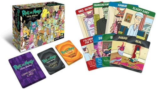 Rick and Morty Total Rickall Card Game-2