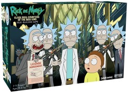 Rick and Morty Deck-Building Close Rick Counters