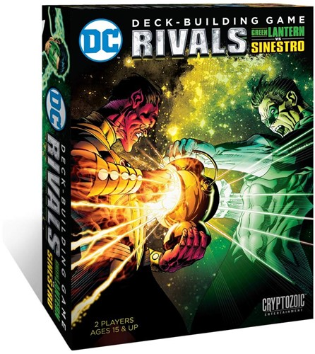 DC Rivals 2 Green Lantern vs Sinestro