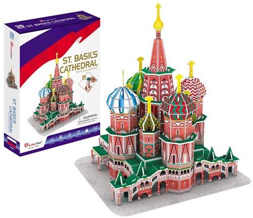 3D Puzzel - St. Basil's Cathedral (92 stukjes)