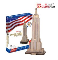 3D Puzzel - Empire State Building (66 stukjes)-1