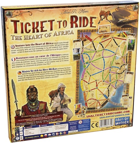 Ticket To Ride - The Heart of Africa Uitbreiding-3