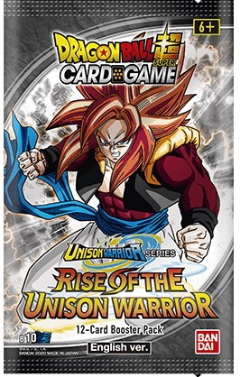 Dragon Ball Super - Rise of the Unison Warrior S10 Sleeved Booster
