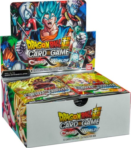 Dragon Ball Cross Worlds Boosterbox