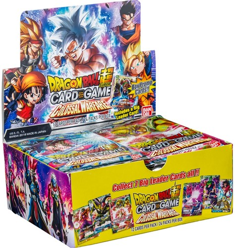 Dragon Ball SCG S4 Colossal Warfare Boosterbox