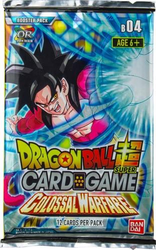 Dragon Ball SCG S4 Colossal Warfare Boosterpack