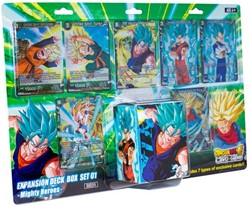 Dragon Ball Super - Expansion Deck Box - Mighty Heroes