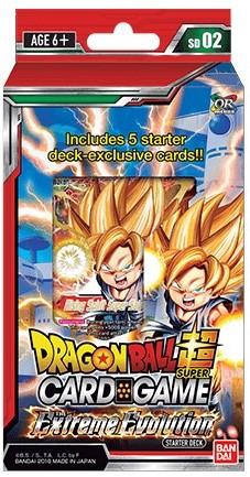 DragonBall Super Starter Deck - Extreme Evolution (open geweest)