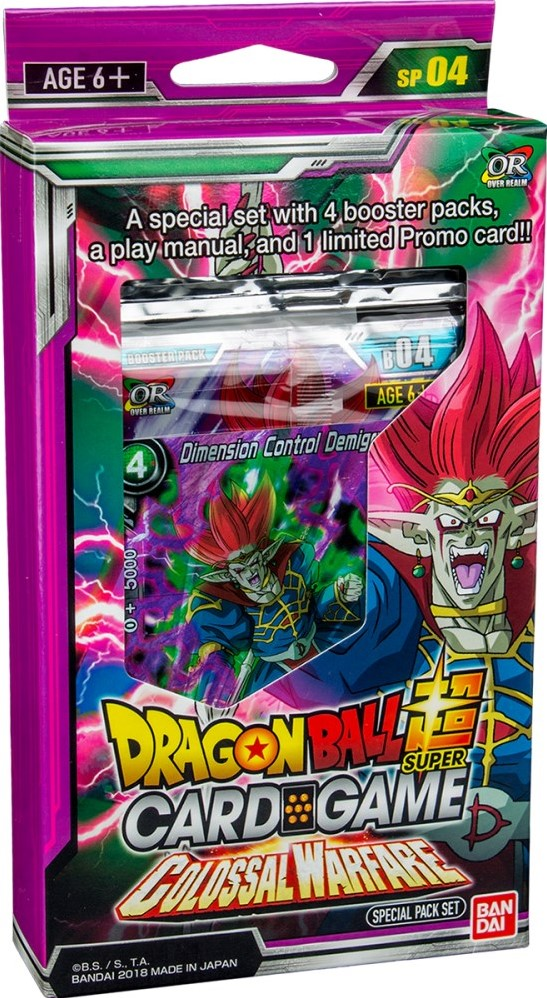 dragon ball super card game colossal warfare - 547×998