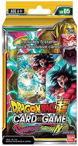 Dragon Ball SCG S5 The Crimson Saiyan Starter Deck