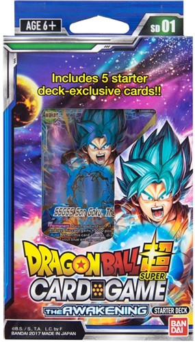 Dragon Ball Super - Starter Deck The Awakening