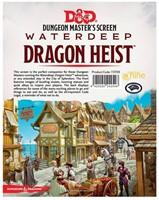 D&D Waterdeep Dragon Heist DM Screen