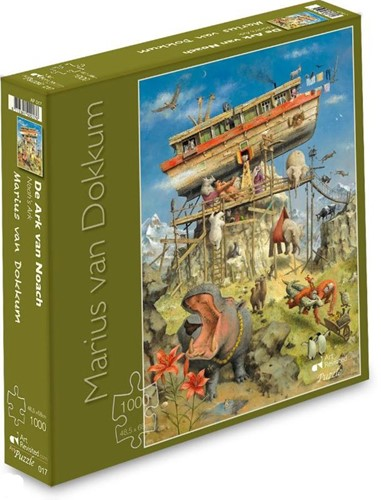 Marius van Dokkum - De Ark van Noach Puzzel (1000 stukjes)
