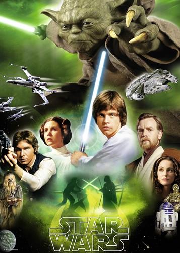 Star Wars - De helden Puzzel (1000 stukjes)-2