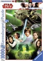 Star Wars - De helden Puzzel (1000 stukjes)-1