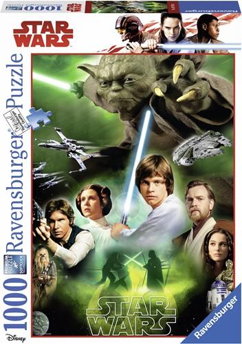 Star Wars - De helden Puzzel (1000 stukjes)