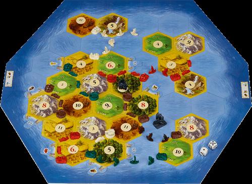De Kolonisten van Catan: De Zeevaarders 5/6 Spelers-2