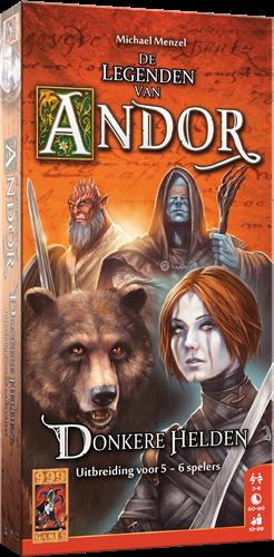 De Legenden van Andor - Donkere Helden 5/6 Spelers