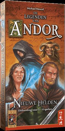 De Legenden van Andor: Nieuwe Helden Uitbr. 5/6-spelers (Open geweest)