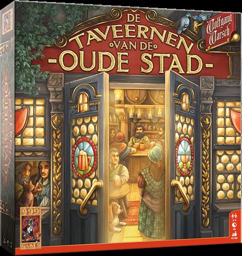 De Taveernen van de Oude Stad - Bordspel