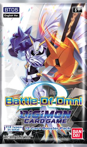 Digimon TCG - Battle of Omni Boosterpack