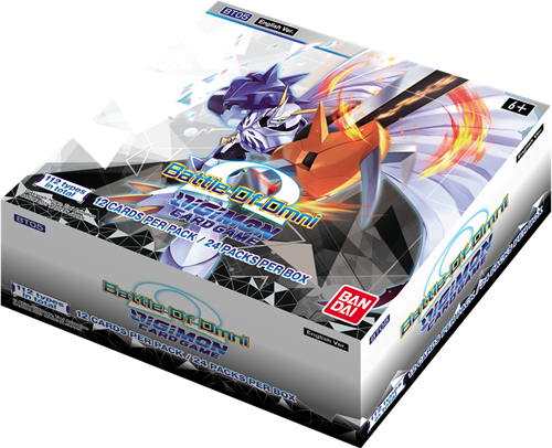 Digimon TCG - Battle of Omni Boosterbox